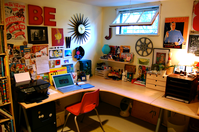 creative desks ward jenkins  Blue Ant Studio