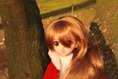Yukino at the park