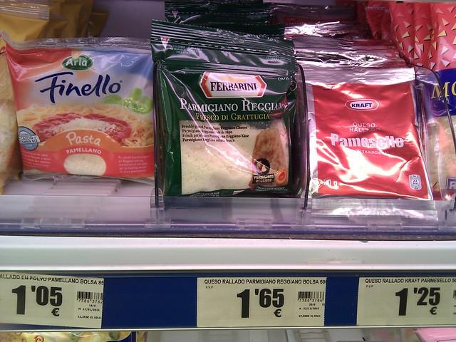 Pamellano, Pamesello, Parmigiano Reggiano. El nombre sí importa.