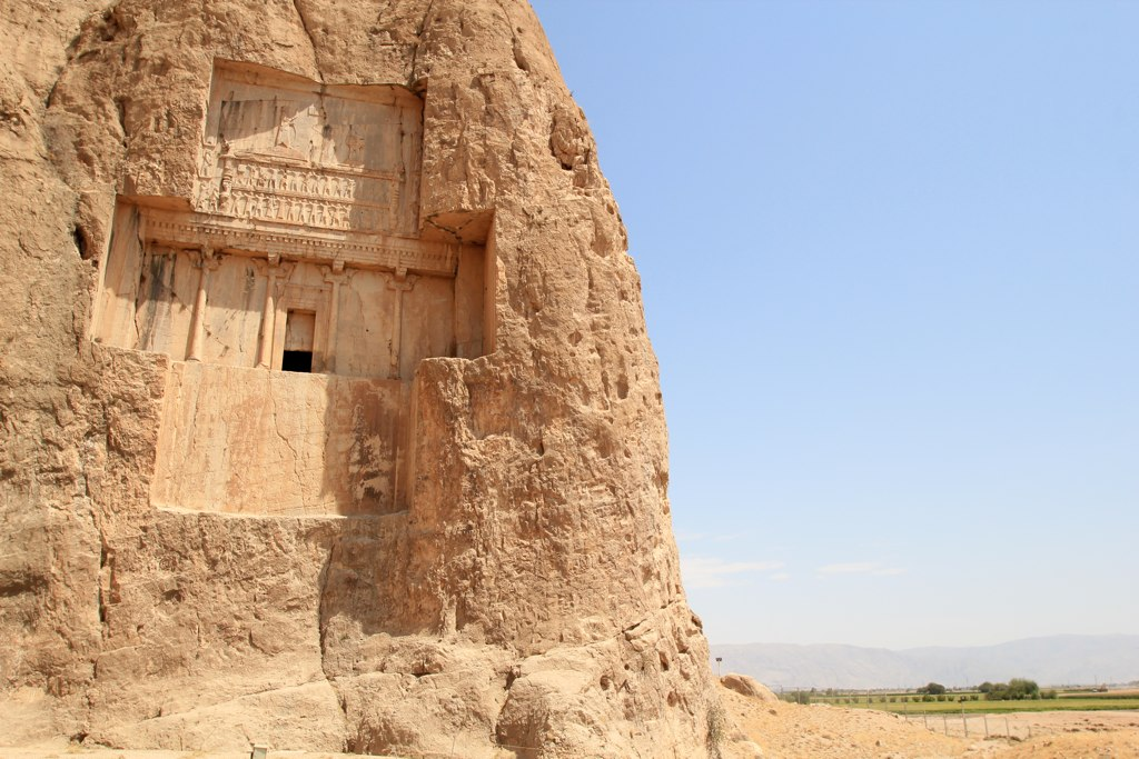 Naqsh-e Rostam: Tomb of Xerxes I of Persia