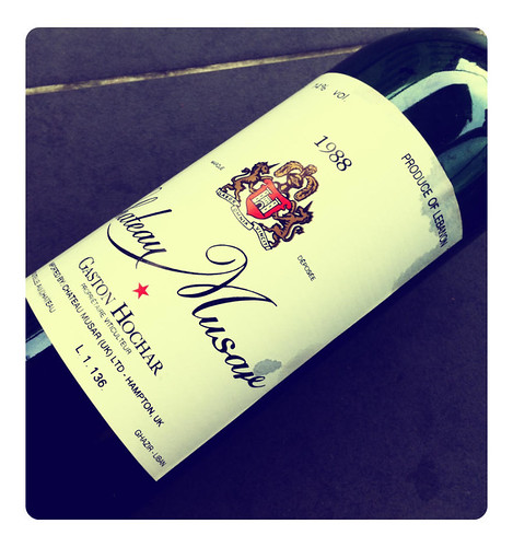 Chateau Musar 1988