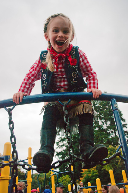 sadie cowgirl at the monster march playground 4