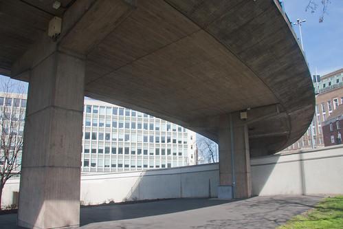Underneath Aston Expressway