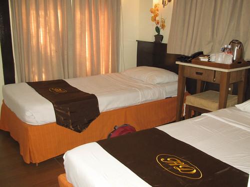 Hotel Dominique Standard Room Beds