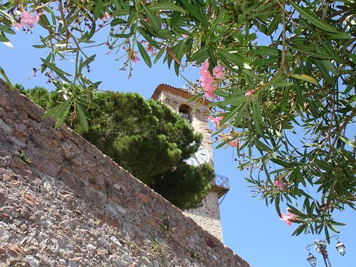 Church & Flowers, France