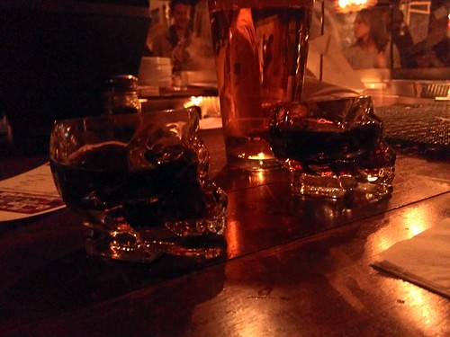 fernet shots in skulls at the citizen