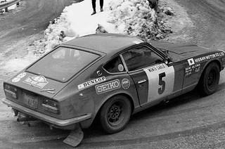 Datsun 240Z - Montecarlo 1972