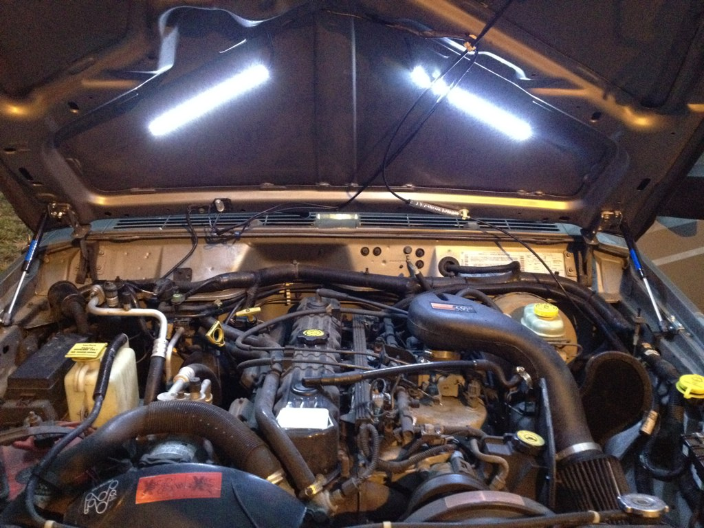 2008 Jeep Wrangler Engine Wiring Harness Underhood Engine Compartment Light Mod Jeep Cherokee Forum