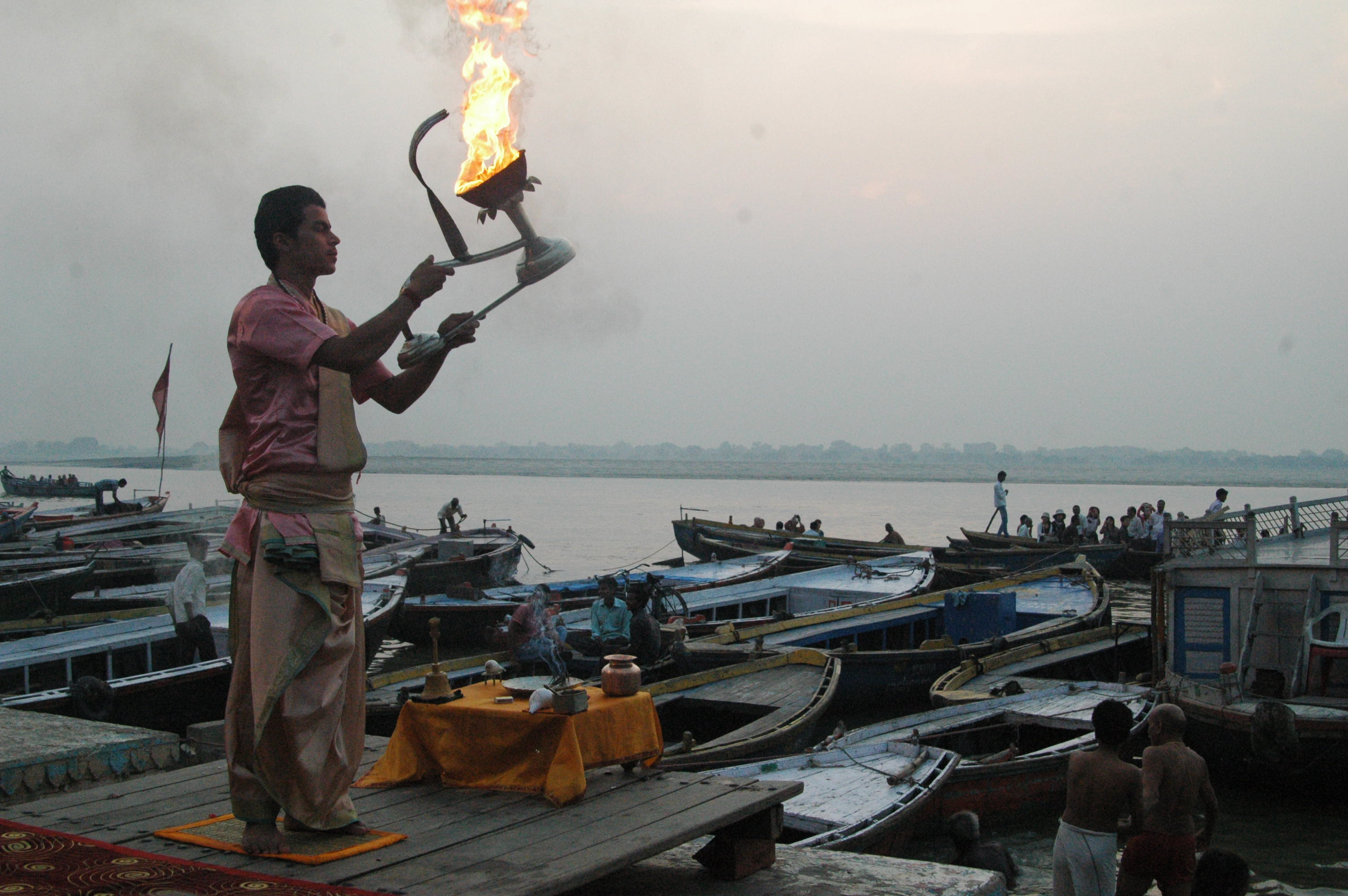 Civilizations are born around water - Varanasi, India