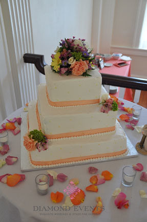 Wedding Cake at Whitehall Manor