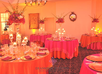 Wedding reception at Mt. Airy Mansion
