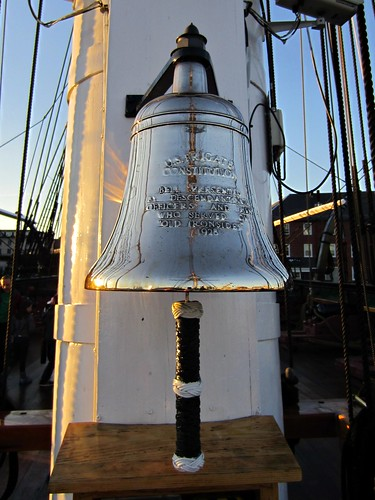 bell on the uss constitution