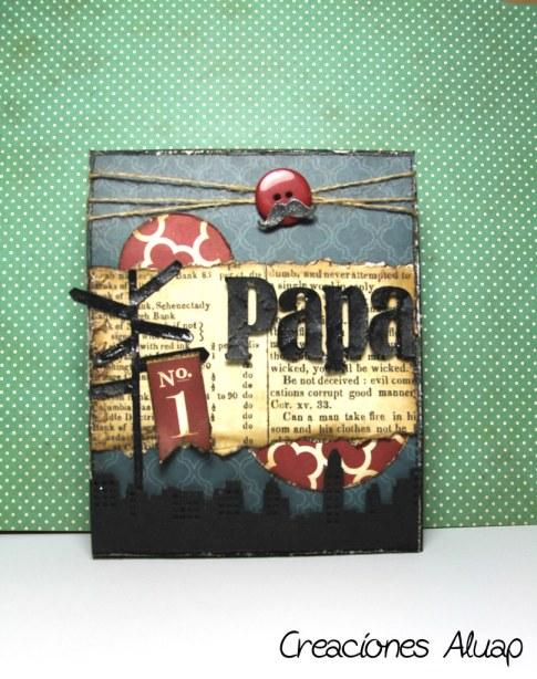 tarjeta día del padre - father day card