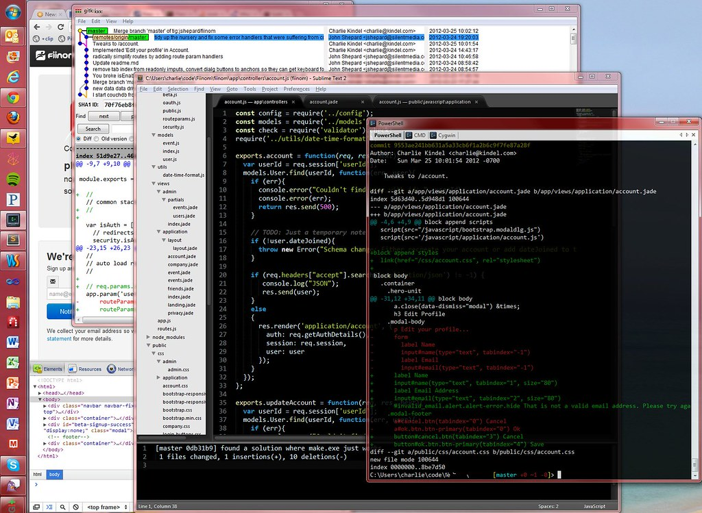 Update: Coping with the OSS command line on Windows | cek log