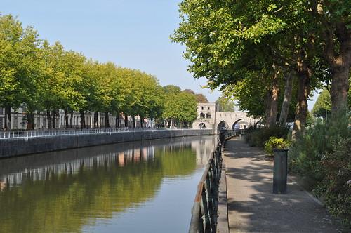 2011.09.25.040 TOURNAI - Quai Dumon - Pont des Trous / L'Escaut