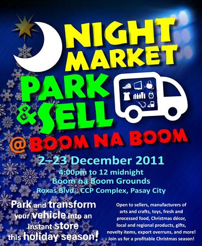 Park &Sell @ Boom na Boom