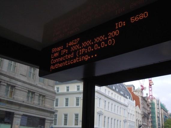 公車站牌的 IP