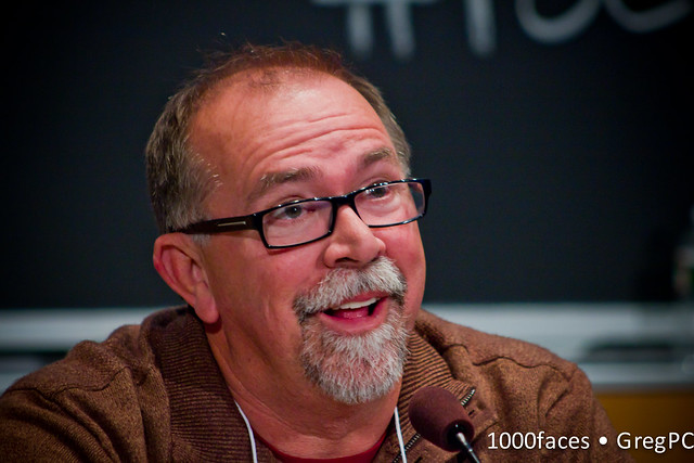 Face - Chuck Fromm (@chuckfromm) speaking at #FoE5