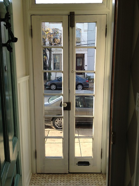 The Final French Door Hardware Item A Beautiful Antique