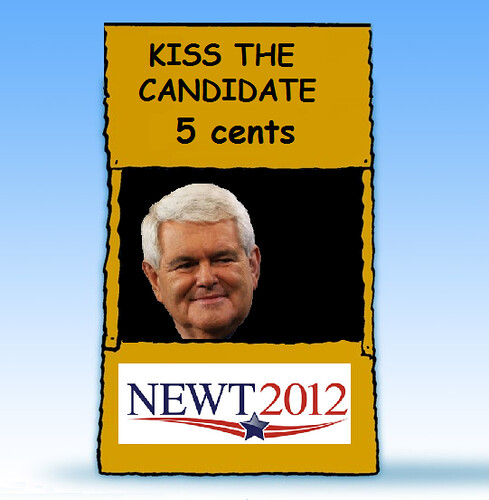 Gingrich Campaign: What's Next, a Bake Sale?