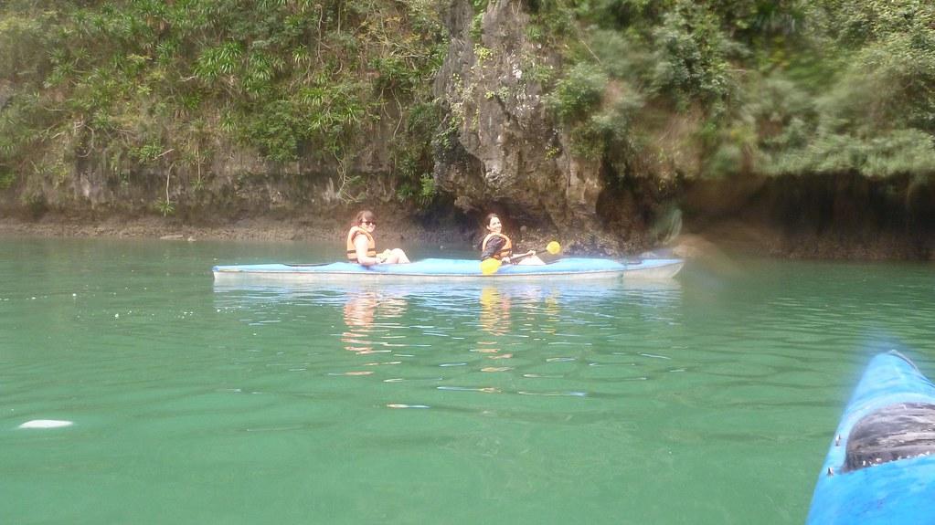 Kayaking- Halong Bay, Vietnam