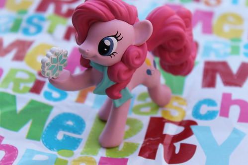 319/365 Pinkie Pie Christmas Tree Ornament