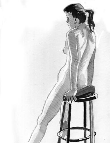 Figure Drawing, 11.11.22 - 3