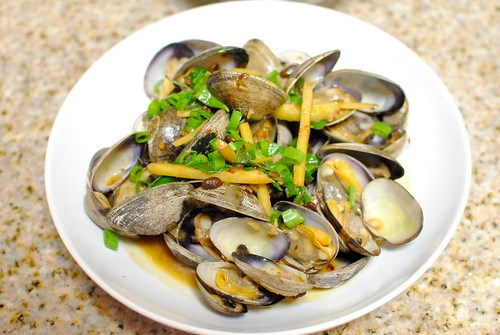 clams in black bean sauce3