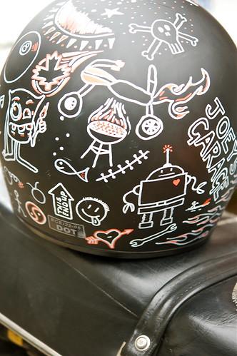 Helmet art