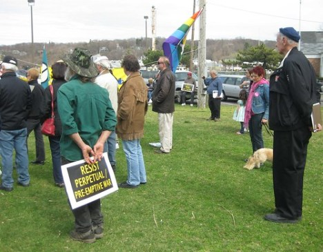 Peace, Justice and Occupy: Plus doggie