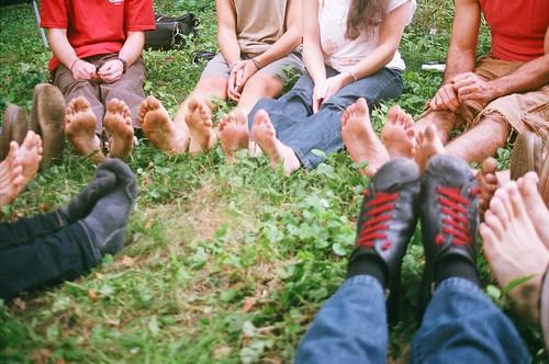 Gift circle feet