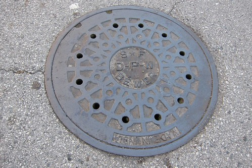San Francisco manhole cover
