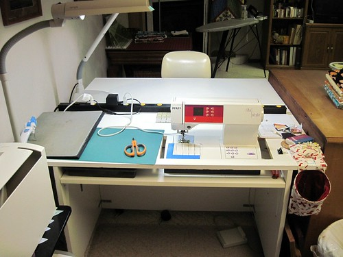 My Sewing Desk