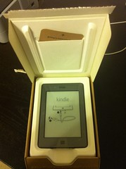 Opened Kindle Touch Shipping Box