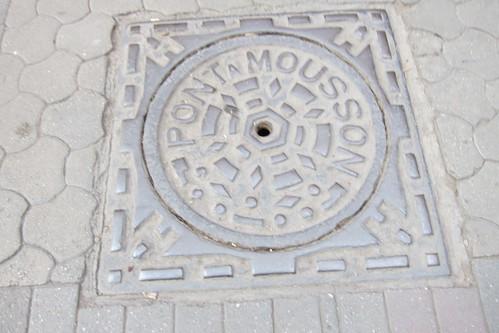 Marrakech Morocco manhole cover