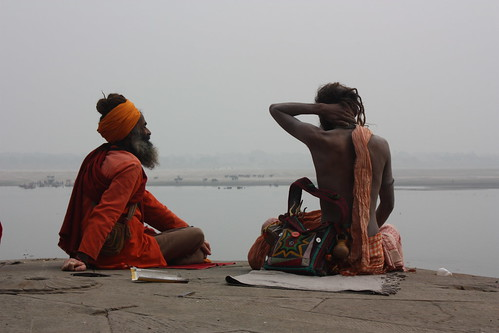 Sadhus at Ganges
