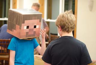 Minecraft dinner queue