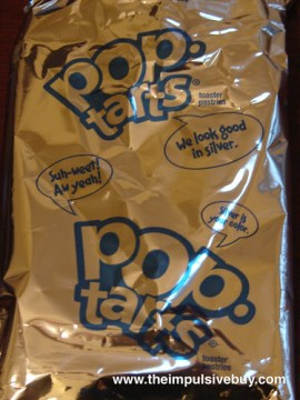 Kellogg's Limited Edition Printed Fun Frosted Sugar Cookie Pop-Tarts Foil Wrapper