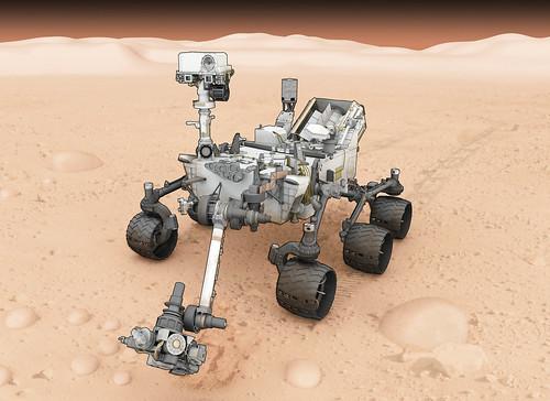 Mars Rover Illustration