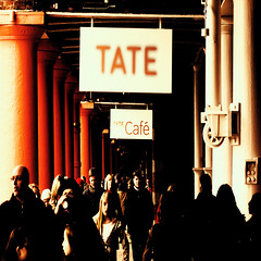 at the tate