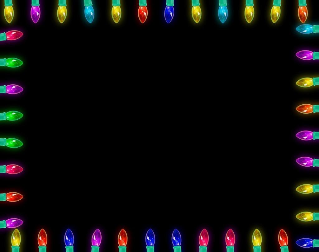 Christmas Light Frames