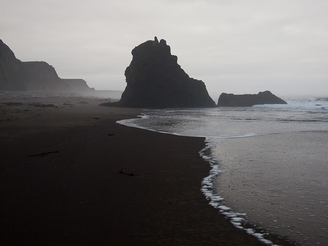 Rocks, Irish Beach, California
