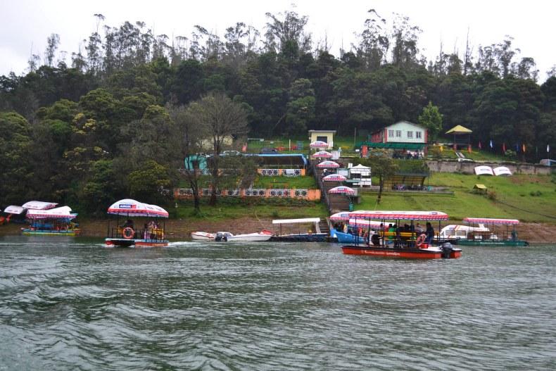 Boat rides, Ooty Lake