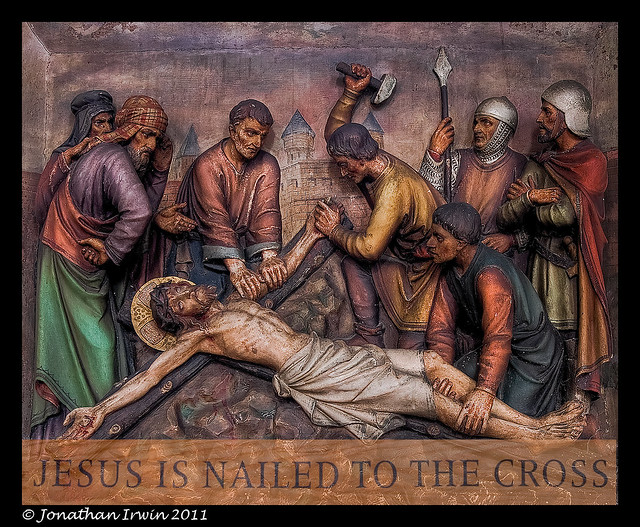 Jesus Being Nailed to the Cross – thoughts, prayers & songs: my ...