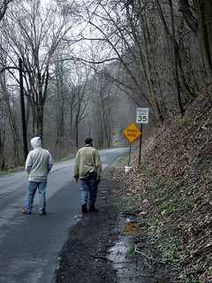 Juniata Valley Audubon members on the River Road