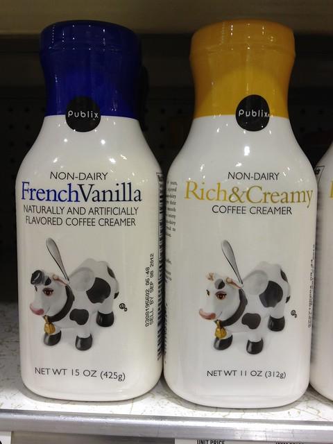 Publix: Non-Dairy Creamer