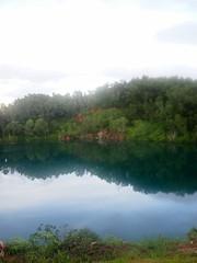 Disused Ubin Quarry. Pulau Ubin