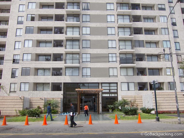 The Robyn apartment building