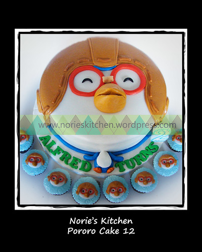 Norie's Kitchen - Pororo Cake 12 by Norie's Kitchen