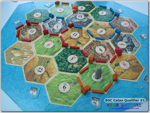 BGC Settlers of Catan 2011 - Qualifier #1
